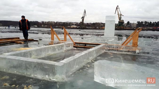 Для безопасности православные Кинешмы пойдут к купели по деревянным настилам фото 4