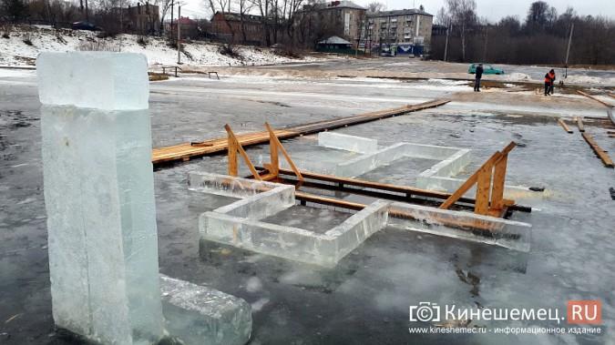 Для безопасности православные Кинешмы пойдут к купели по деревянным настилам фото 8