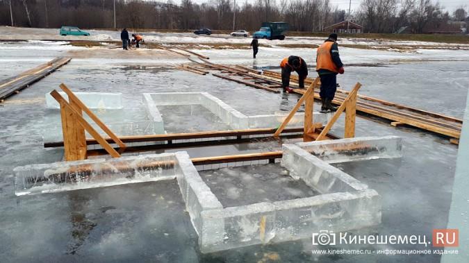 Для безопасности православные Кинешмы пойдут к купели по деревянным настилам фото 6