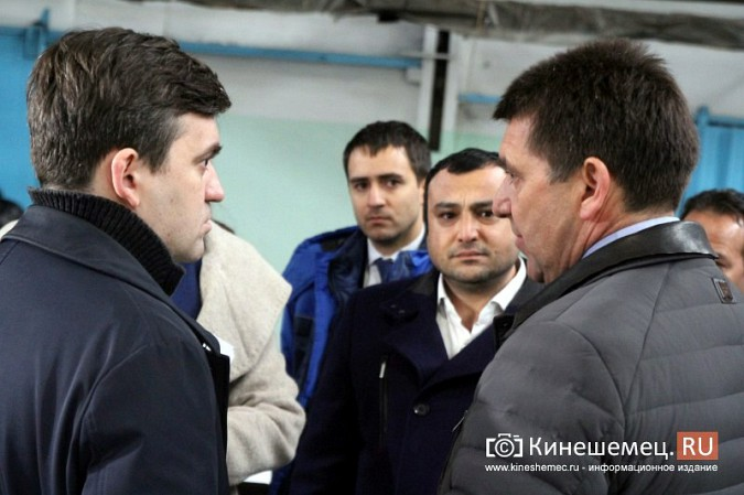 Губернатор в Кинешме: «КейЭйСи», турецкое производство, совет директоров и Нардом фото 13