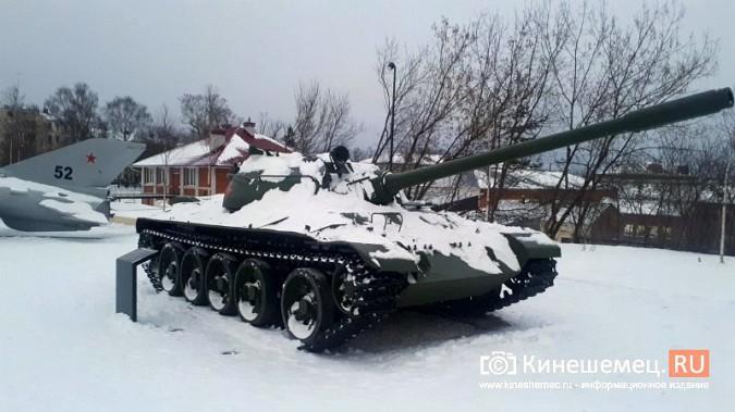 Танкисты Кинешмы просят заварить отверстие в днище Т-55 в парке фото 10
