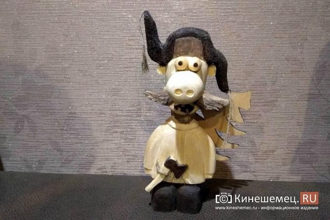 Мастер-самоучка из Кинешмы вырезает из дерева фигуры животных и людей фото 8