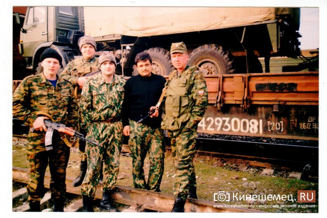 20 лет назад кинешемский огнеметный батальон вошел в Чечню фото 2