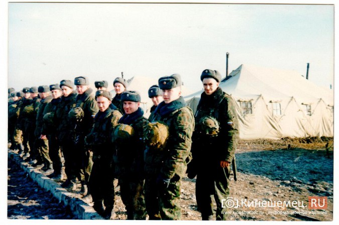 20 лет назад кинешемский огнеметный батальон вошел в Чечню фото 7