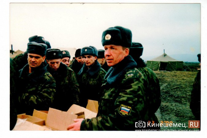 20 лет назад кинешемский огнеметный батальон вошел в Чечню фото 17