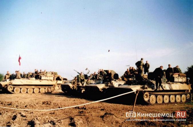 20 лет назад кинешемский огнеметный батальон вошел в Чечню фото 19