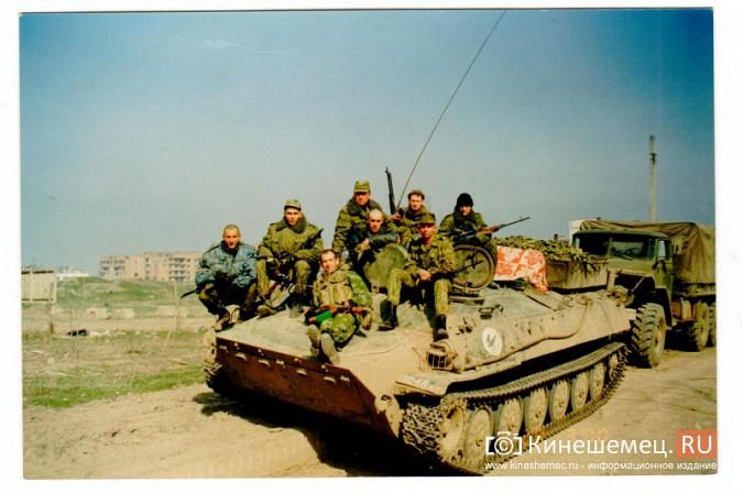 20 лет назад кинешемский огнеметный батальон вошел в Чечню фото 13