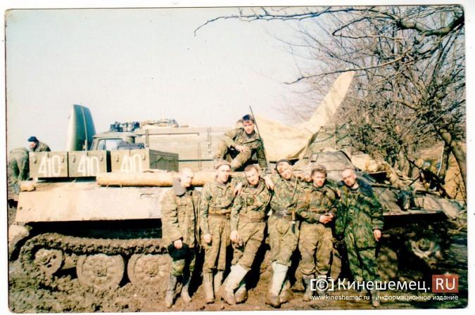 20 лет назад кинешемский огнеметный батальон вошел в Чечню фото 9