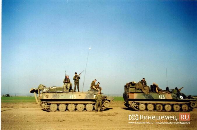 20 лет назад кинешемский огнеметный батальон вошел в Чечню фото 20