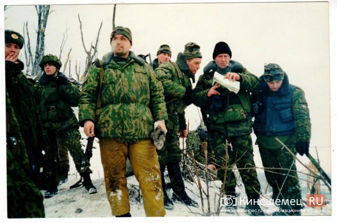 20 лет назад кинешемский огнеметный батальон вошел в Чечню фото 11