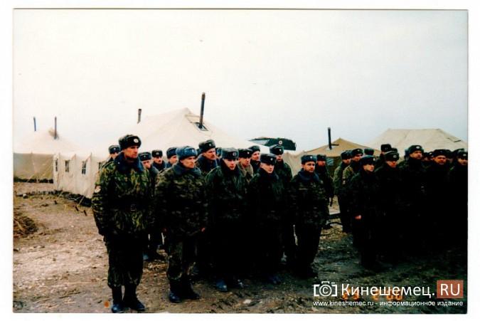 20 лет назад кинешемский огнеметный батальон вошел в Чечню фото 16