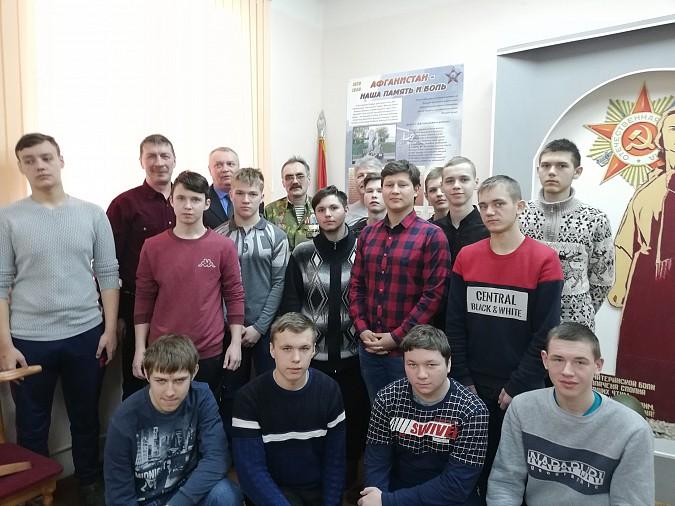 Студенты Политехнического колледжа встретились с ветеранами боевых действий фото 3
