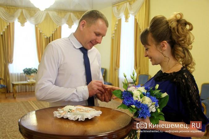 В Кинешму расписаться в День святого Валентина съехались молодожены из разных городов России фото 7
