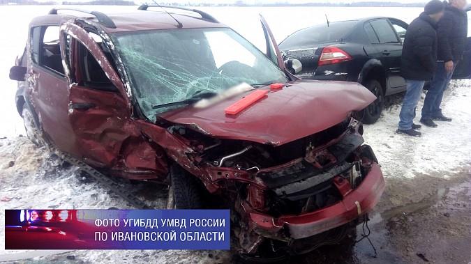 Водитель «Мазды» устроил массовое ДТП с пострадавшими на дороге «Иваново-Кинешма» фото 2