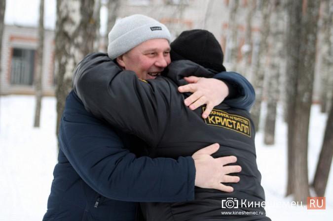 Кинешемские огнеметчики на развалинах химбригады вспомнили Чечню фото 6