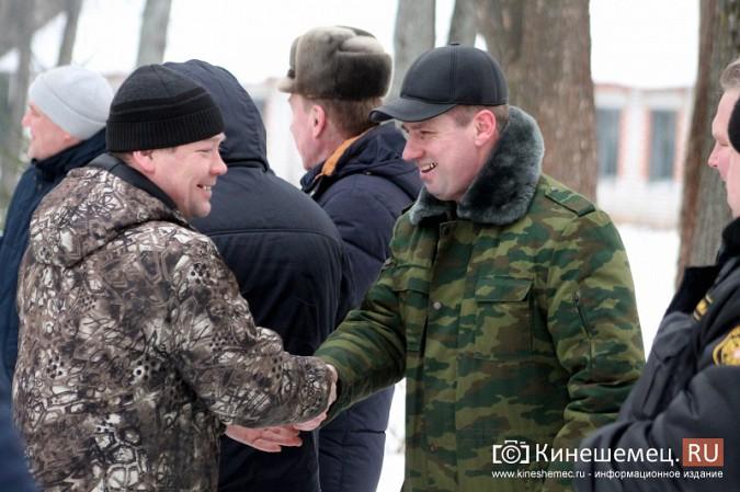 Кинешемские огнеметчики на развалинах химбригады вспомнили Чечню фото 11