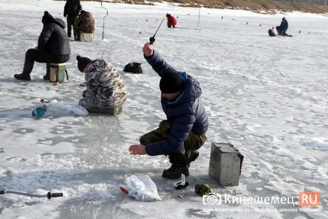 В Кинешме прошли соревнования по рыбной ловле на мормышку фото 11