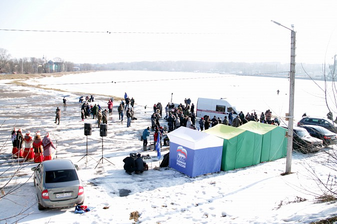 В Кинешме прошли соревнования по рыбной ловле на мормышку фото 31