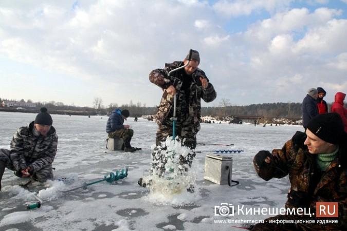 В Кинешме прошли соревнования по рыбной ловле на мормышку фото 16