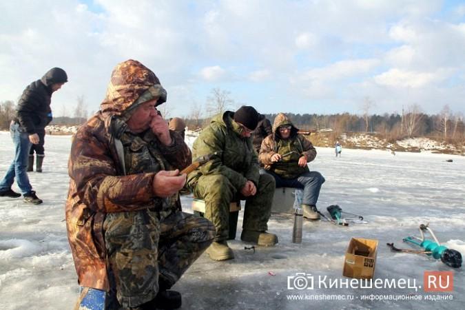 В Кинешме прошли соревнования по рыбной ловле на мормышку фото 19