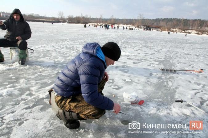В Кинешме прошли соревнования по рыбной ловле на мормышку фото 12