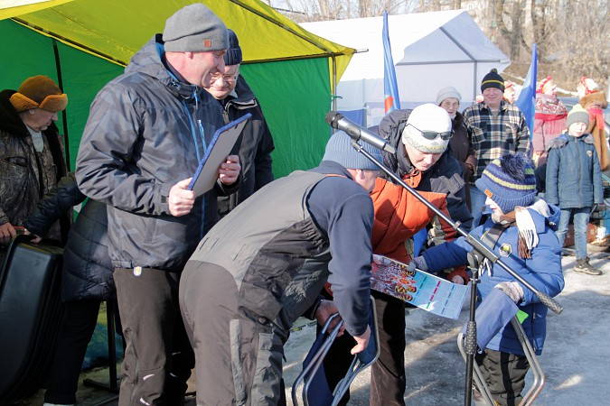 В Кинешме прошли соревнования по рыбной ловле на мормышку фото 35