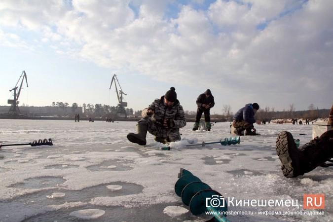 В Кинешме прошли соревнования по рыбной ловле на мормышку фото 14