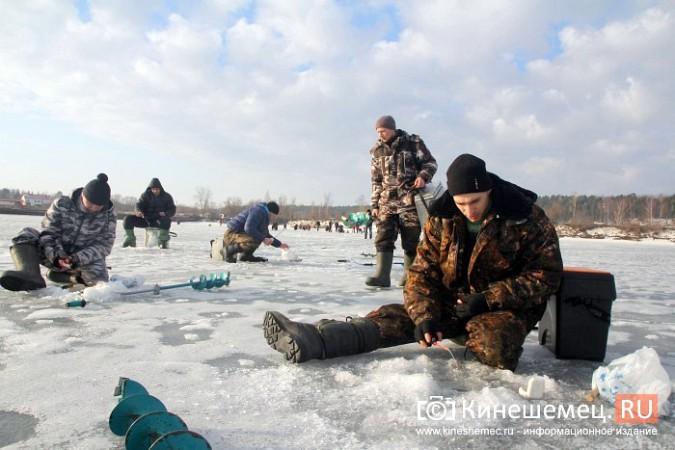В Кинешме прошли соревнования по рыбной ловле на мормышку фото 13