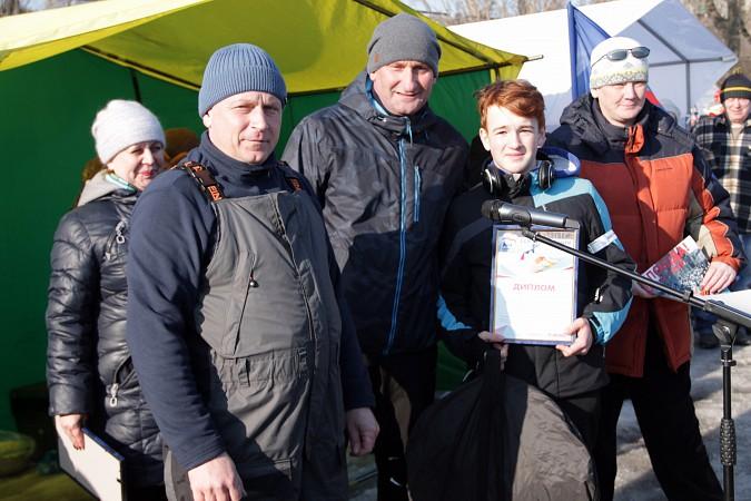 В Кинешме прошли соревнования по рыбной ловле на мормышку фото 38