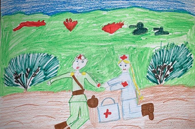 Библиотека № 5 подвела итоги конкурса детских рисунков, посвященного 75-летию Победы фото 7