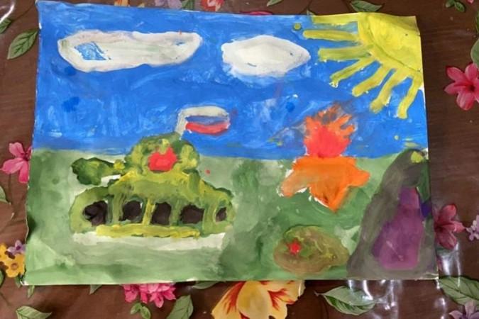 Библиотека № 5 подвела итоги конкурса детских рисунков, посвященного 75-летию Победы фото 4