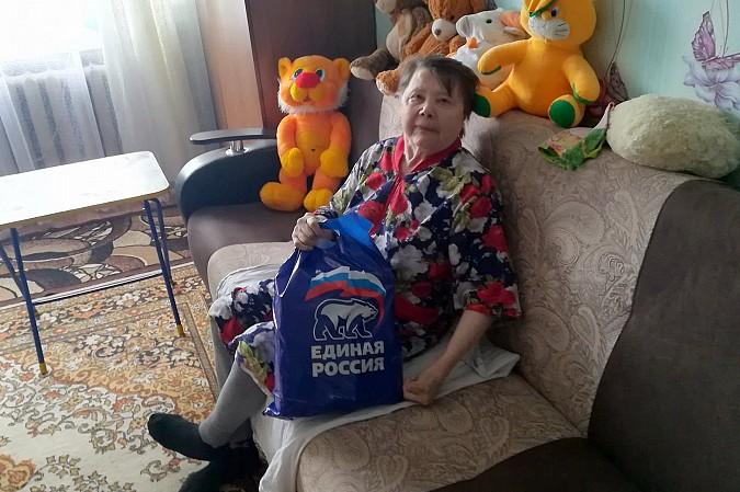 В Кинешме «Единая России» продолжает раздавать гражданам продуктовые наборы фото 9