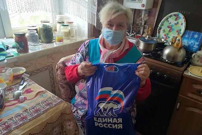 В Кинешме «Единая России» продолжает раздавать гражданам продуктовые наборы фото 2