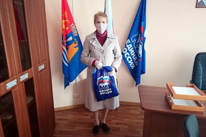 В Кинешме «Единая России» продолжает раздавать гражданам продуктовые наборы фото 5