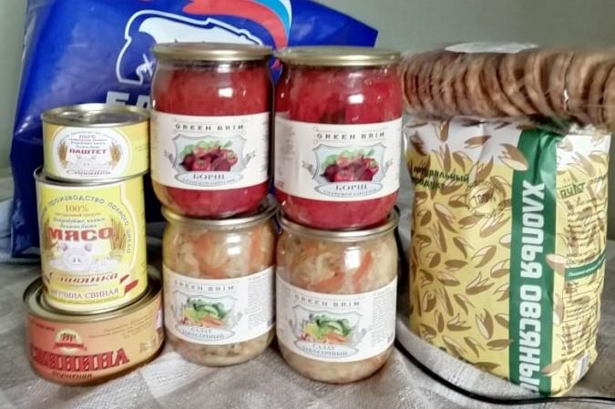 В Кинешме «Единая России» продолжает раздавать гражданам продуктовые наборы фото 4