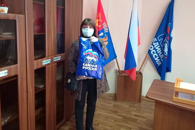 В Кинешме «Единая России» продолжает раздавать гражданам продуктовые наборы фото 6