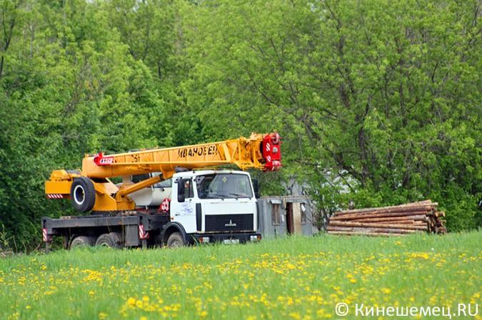 На «лесозаводском поле» в Кинешме началось строительство торгового центра фото 5