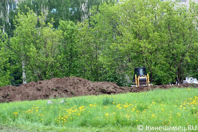 На «лесозаводском поле» в Кинешме началось строительство торгового центра фото 2