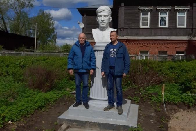 В Кинешме установили бюст Героя Советского Союза Виктора Кудрявцева фото 4