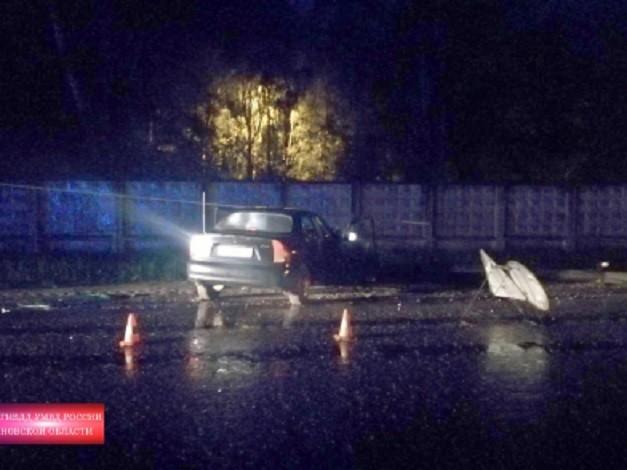 В Кинешме водитель «ЗАЗ Шанс» врезался в опору уличного освещения фото 2