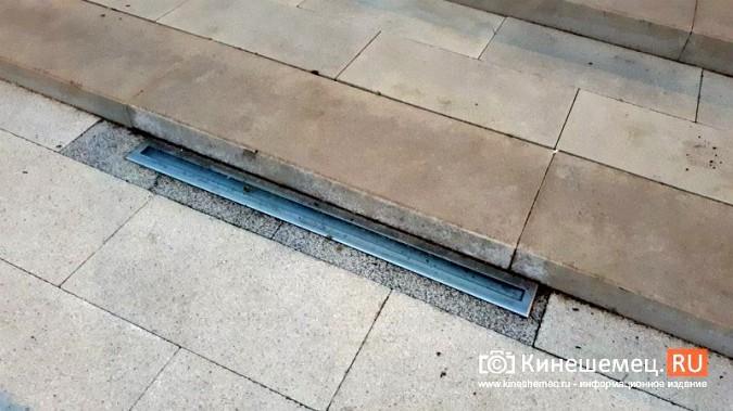 В ступенях реконструированного парка Кинешмы вышли из строя более половины светильников фото 4