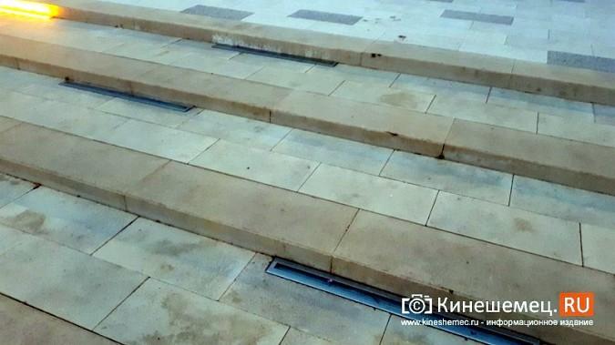 В ступенях реконструированного парка Кинешмы вышли из строя более половины светильников фото 5