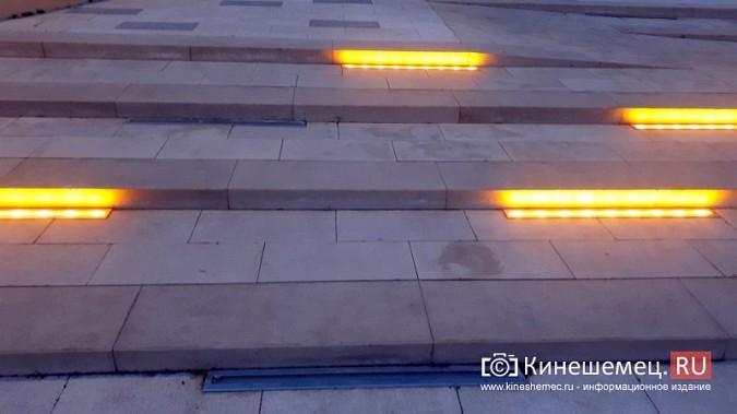 В ступенях реконструированного парка Кинешмы вышли из строя более половины светильников фото 6