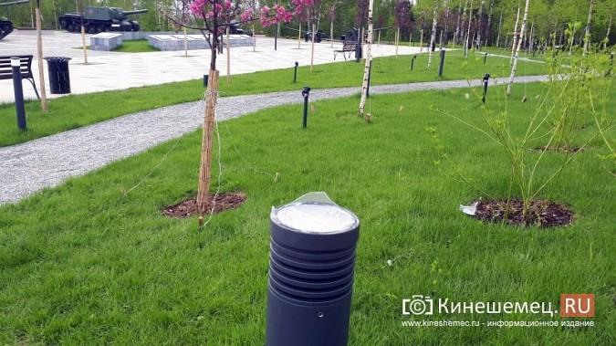 В ступенях реконструированного парка Кинешмы вышли из строя более половины светильников фото 8