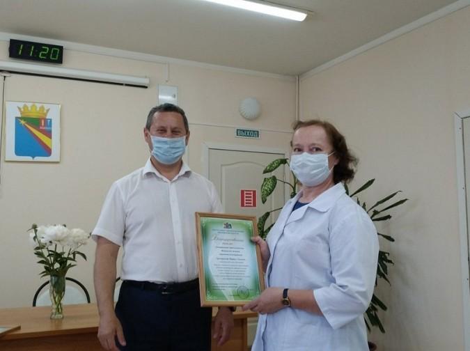В Кинешме наградили медицинских работников фото 4