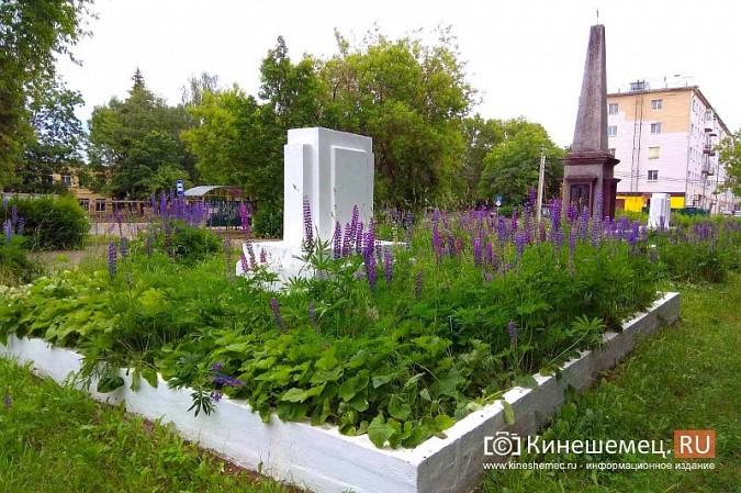 В Кинешме зарастает травой обелиск участникам Великой Отечественной войны фото 13