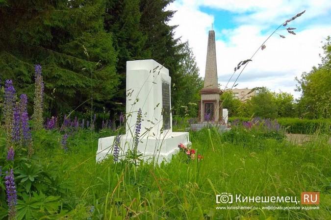 В Кинешме зарастает травой обелиск участникам Великой Отечественной войны фото 11
