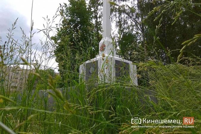 Предприниматель Гамарник, не дожидаясь властей, скосил траву у обелиска на «Лесозаводе» фото 2
