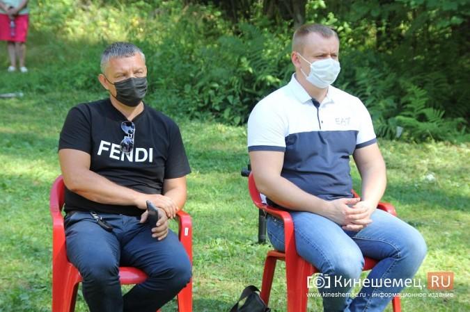 Станислав Воскресенский встретился с общественностью Кинешмы на парке на «стартовой» поляне фото 19