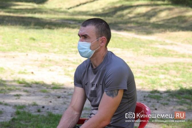 Станислав Воскресенский встретился с общественностью Кинешмы на парке на «стартовой» поляне фото 16